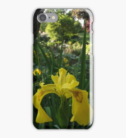 Yellow Iris iPhone Case/Skin