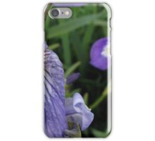 Blue Shoreline Iris iPhone Case/Skin