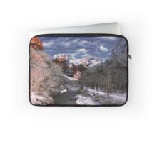 Winter Zion National Park Laptop Sleeve