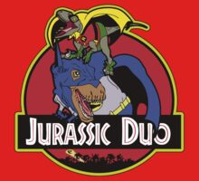 Jurassic Duo One Piece - Short Sleeve
