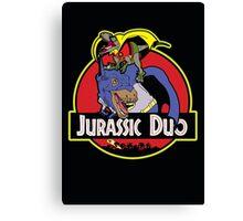Jurassic Duo Canvas Print