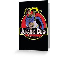 Jurassic Duo Greeting Card