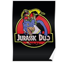 Jurassic Duo Poster