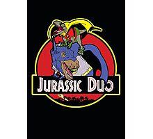 Jurassic Duo Photographic Print