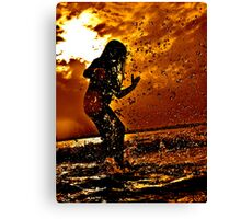 More Songs From The Beach. Canvas Print