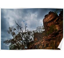 West Arnhem Land - Storm Clouds and Cliffs Poster