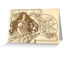 Art Nouveau Celt Greeting Card