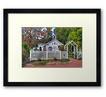 Rural Cottage Framed Print