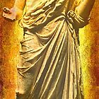 Asclepius Descending by Nigel Fletcher-Jones