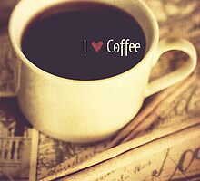 I Heart Coffee by Erin Reynolds