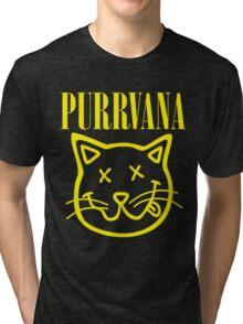 Purrvana Tri-blend T-Shirt