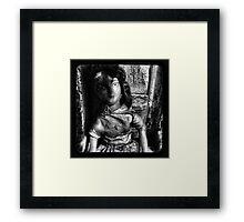 TTV- doll Framed Print