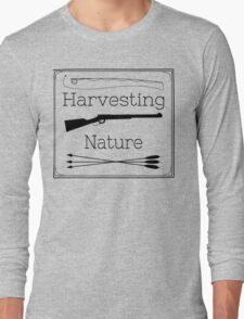 Harvesting Nature Logo T Long Sleeve T-Shirt