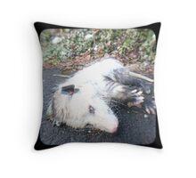 TTV- the big sleep Throw Pillow