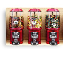 Gumball Machines Canvas Print