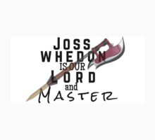 Joss Whedon Is Our Lord And Masters Kids Tee