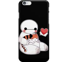 Chibi Baymax and Mochi  iPhone Case/Skin