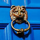 Lion door knocker, The Chantry, Canterbury by buttonpresser
