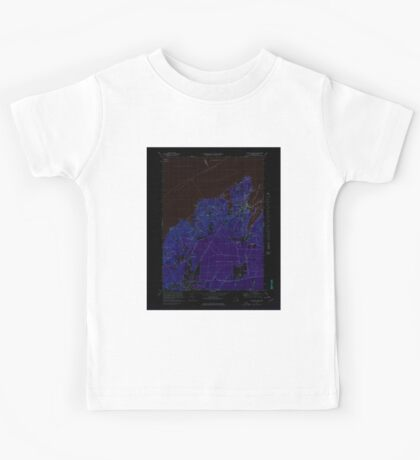 Massachusetts  USGS Historical Topo Map MA Vineyard Haven 351380 1972 25000 Inverted Kids Tee