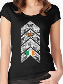 One Direction Inspired* Chevron Tattoo Women's Fitted Scoop T-Shirt