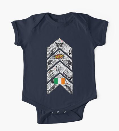 One Direction Inspired* Chevron Tattoo One Piece - Short Sleeve