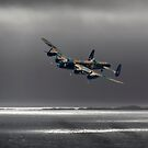Lancaster over The Sound of Sleet by SWEEPER