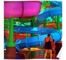 WATER PARK #67 Poster