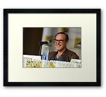 Clark Gregg - SDCC 2015 Framed Print