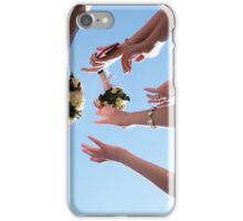 Wedding bouquets planted on the sky iPhone Case/Skin