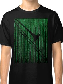 Matrix Musician - Trombonist Classic T-Shirt