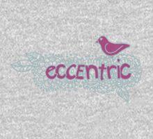 Eccentric (on dark colours) Kids Clothes