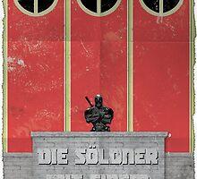 Deadpool Propaganda Poster by Jakob MacDonald