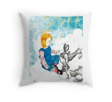 Earning their Wings Throw Pillow