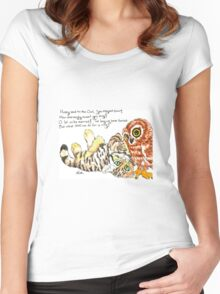 Owl and Pussycat Women's Fitted Scoop T-Shirt