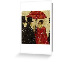 Victorian Greeting .... Christmas card Greeting Card