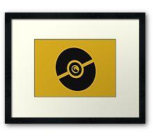 Pokemon Pokeball Dragon  Framed Print