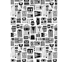 Travel Essentials Pattern Photographic Print