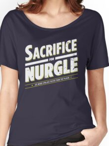 Sacrifice for Nurgle - Damaged Women's Relaxed Fit T-Shirt