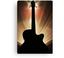 """Electric"" Guitar Canvas Print"