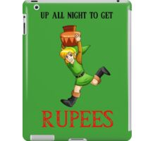 Up All Night To Get Rupees iPad Case/Skin
