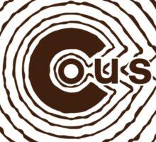 Duquette Cousins Wannabe - Brown Sticker