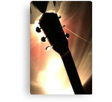 Electric Guitar 2 Canvas Print