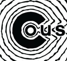 Duquette Cousins Wannabe - Black Sticker