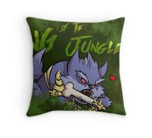 Warwick - King of the Junglers Throw Pillow
