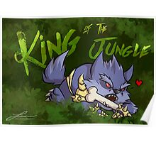 Warwick - King of the Junglers Poster
