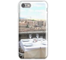 Your Table is Waiting iPhone Case/Skin