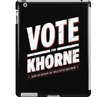 Vote for Khorne - Damaged iPad Case/Skin