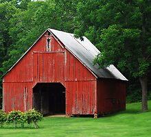Starry Barn by Bob Boehm