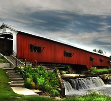 Bridgeton Red Covered Bridge by Bob Boehm