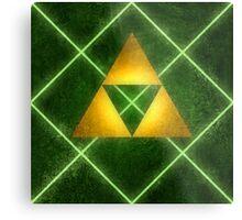 Triforce Pattern Metal Print